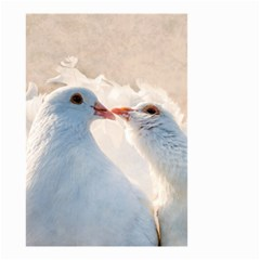 Doves In Love Small Garden Flag (two Sides) by FunnyCow