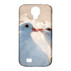 Doves In Love Samsung Galaxy S4 Classic Hardshell Case (pc+silicone) by FunnyCow