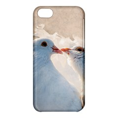 Doves In Love Apple Iphone 5c Hardshell Case by FunnyCow