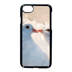 Doves In Love Apple Iphone 8 Seamless Case (black) by FunnyCow