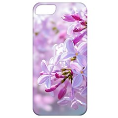 Pink Lilac Flowers Apple Iphone 5 Classic Hardshell Case by FunnyCow