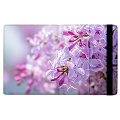 Pink Lilac Flowers Apple Ipad 3/4 Flip Case by FunnyCow