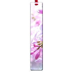 Pink Lilac Flowers Large Book Marks by FunnyCow