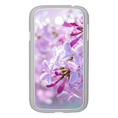 Pink Lilac Flowers Samsung Galaxy Grand Duos I9082 Case (white) by FunnyCow