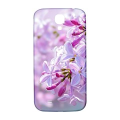 Pink Lilac Flowers Samsung Galaxy S4 I9500/i9505  Hardshell Back Case by FunnyCow
