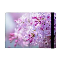 Pink Lilac Flowers Ipad Mini 2 Flip Cases by FunnyCow