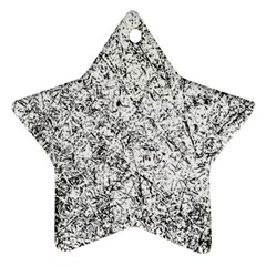 Willow Foliage Abstract Star Ornament (two Sides) by FunnyCow