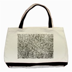 Willow Foliage Abstract Basic Tote Bag (two Sides) by FunnyCow