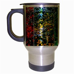 Abstract Of Colorful Water Travel Mug (silver Gray) by FunnyCow