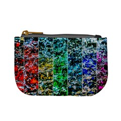 Abstract Of Colorful Water Mini Coin Purses by FunnyCow