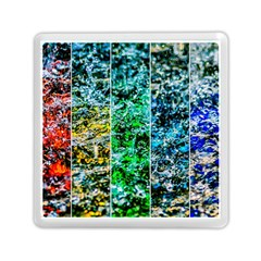 Abstract Of Colorful Water Memory Card Reader (square)  by FunnyCow