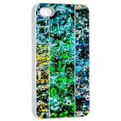Abstract Of Colorful Water Apple Iphone 4/4s Seamless Case (white) by FunnyCow