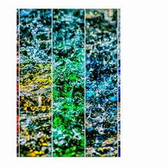 Abstract Of Colorful Water Large Garden Flag (two Sides) by FunnyCow