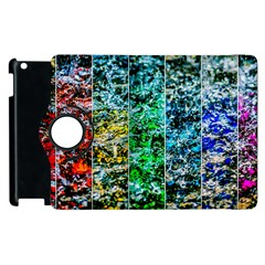 Abstract Of Colorful Water Apple Ipad 2 Flip 360 Case by FunnyCow