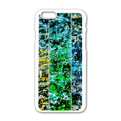 Abstract Of Colorful Water Apple Iphone 6/6s White Enamel Case by FunnyCow