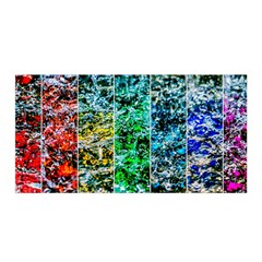 Abstract Of Colorful Water Satin Wrap by FunnyCow