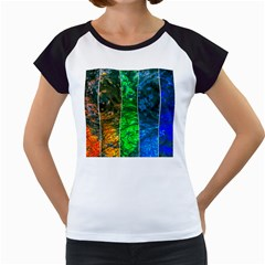 Rainbow Of Water Women s Cap Sleeve T by FunnyCow