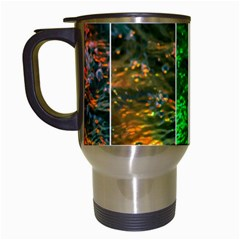 Rainbow Of Water Travel Mugs (white) by FunnyCow
