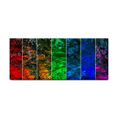 Rainbow Of Water Hand Towel by FunnyCow