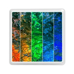 Rainbow Of Water Memory Card Reader (square)  by FunnyCow