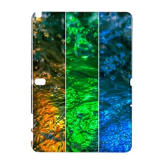 Rainbow Of Water Samsung Galaxy Note 10 1 (p600) Hardshell Case by FunnyCow