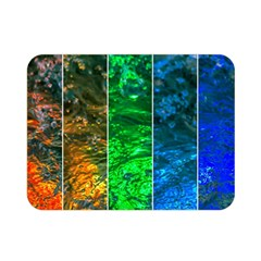 Rainbow Of Water Double Sided Flano Blanket (mini)  by FunnyCow