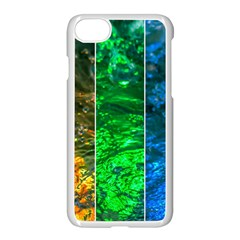 Rainbow Of Water Apple Iphone 8 Seamless Case (white) by FunnyCow