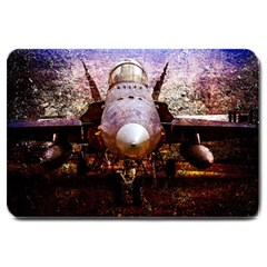 The Art Of Military Aircraft Large Doormat  by FunnyCow