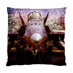 The Art Of Military Aircraft Standard Cushion Case (two Sides) by FunnyCow