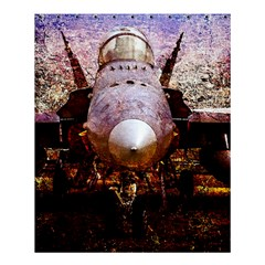 The Art Of Military Aircraft Shower Curtain 60  X 72  (medium)  by FunnyCow