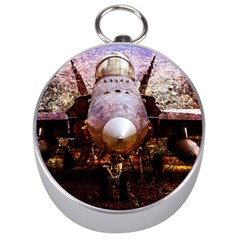 The Art Of Military Aircraft Silver Compasses by FunnyCow