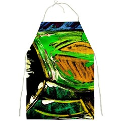 Lillies In The Terracota Vase 5 Full Print Aprons