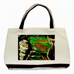 Lillies In The Terracota Vase 5 Basic Tote Bag by bestdesignintheworld