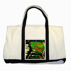 Lillies In The Terracota Vase 5 Two Tone Tote Bag by bestdesignintheworld