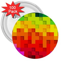 Abstract Background Square Colorful 3  Buttons (100 Pack)  by Nexatart
