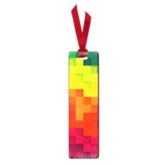 Abstract Background Square Colorful Small Book Marks by Nexatart