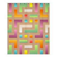 Abstract Background Colorful Shower Curtain 60  X 72  (medium)