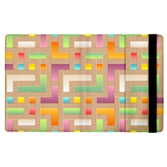 Abstract Background Colorful Apple Ipad Pro 12 9   Flip Case by Nexatart