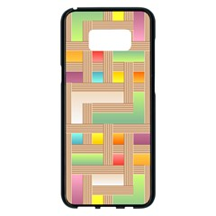 Abstract Background Colorful Samsung Galaxy S8 Plus Black Seamless Case by Nexatart