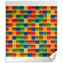Background Colorful Abstract Canvas 20  X 24   by Nexatart