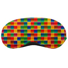 Background Colorful Abstract Sleeping Masks