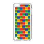 Background Colorful Abstract Apple iPod Touch 5 Case (White) Front