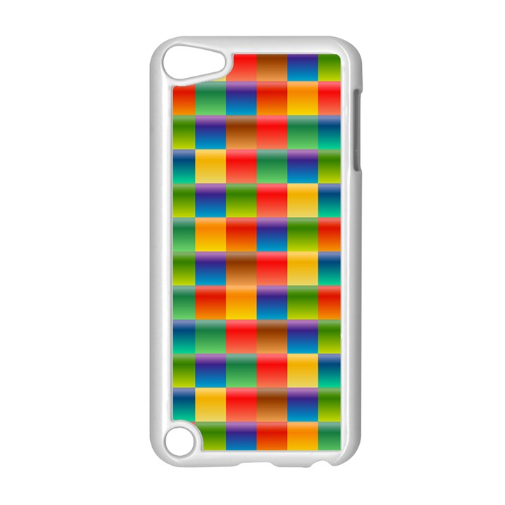Background Colorful Abstract Apple iPod Touch 5 Case (White)