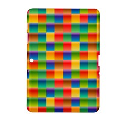 Background Colorful Abstract Samsung Galaxy Tab 2 (10 1 ) P5100 Hardshell Case  by Nexatart