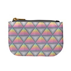 Background Colorful Triangle Mini Coin Purses