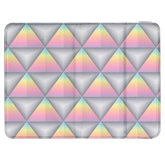 Background Colorful Triangle Samsung Galaxy Tab 7  P1000 Flip Case