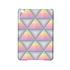 Background Colorful Triangle Ipad Mini 2 Hardshell Cases by Nexatart