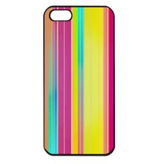 Background Colorful Abstract Apple Iphone 5 Seamless Case (black)