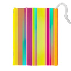 Background Colorful Abstract Drawstring Pouches (xxl) by Nexatart