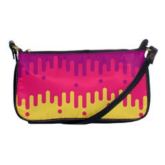 Background Image Shoulder Clutch Bags